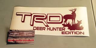 TRD Deer Hunter Edition Decals · Hard Luck GraphiX · Online Store ... Amazoncom Buck Commander Deer Vinyl Die Cut Decal Sticker 6 White Browning Head Car Window 5 Duck Fish Truck Doe Etsy Hunting Hunter Funny Camel Its Hunt Day Wednesday Parody Turkey Duck And Fishing Hook Vinyl Decal Sticker Realtree Xtra Camo Antler Windows Decals Automobiles Motorcycles Exterior Accsories Stickers 27 Wall For Style Pink Family Decalsticker For Cars Walls Huntemup Moose Or 4x3