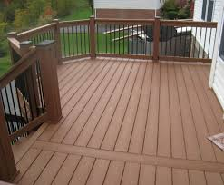 Horizontal Deck Railing Ideas by Wood Deck Railing Designs Variety Of Railing Options For Decks