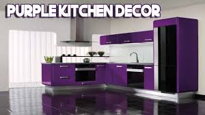Daily Decor Purple Kitchen