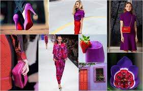 Awesome Colour Combinations Scarlet And Purple