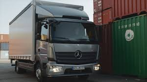 100 Benz Truck 2013 Mercedes Atego DRIVING YouTube