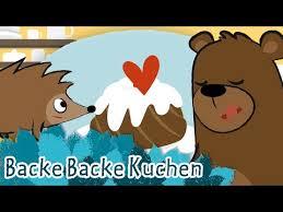 backe backe kuchen kinderlieder letras