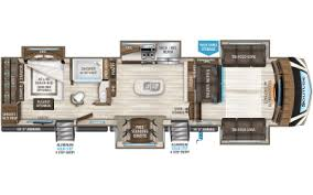 Fifth Wheel Bunkhouse Floor Plans by Solitude Fifth Wheel Floorplans Grand Design
