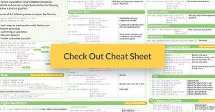 Numpy Tile New Axis by Python Seaborn Cheat Sheet Article Datacamp