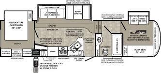 Montana Fifth Wheel Floor Plans 2006 by Glendale Titanium Fifth Wheel Floorplans 8 Layouts Camping
