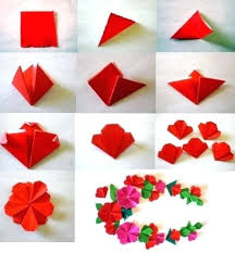 Paper Flowers Step By Easy Flower Making Tutorial How To Make Craft