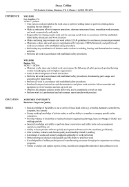 Welder Resume Sample Breathtaking Templates Objective Samples