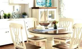 Coastal Living Dining Room Shelter Bay Table Tables Decor Nautical Cozy Kitchen Round Alluring Na
