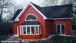 maison kit bois préfabriqué maison modulaire en panneaux bois