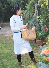 100 Fresh Home And Garden Stripe Linen Japanese Housekeeping Baking Work