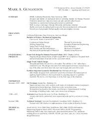 Sample Resume For Electrical Technician Examples Resumes Apprentice