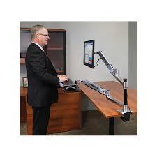 Ergotron Sit Stand Desk by Sit To Stand Ergotron Workfit Lx Sit Stand Desk Mount System