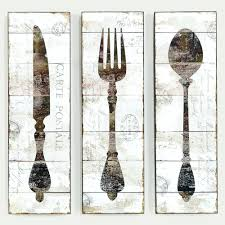 Black Wooden Spoon And Fork Wall Decor by Wall Arts Giant Fork And Spoon Wall Art Large Knife Fork And