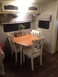 Perfect Rv Dining Table Luxury I K E A With Toddler Chair Camper And Replacement Idea Bed Cushion Top