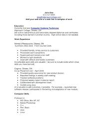 Example Of Skills On Resume Examples Computer Essay Disability History Museum Regarding