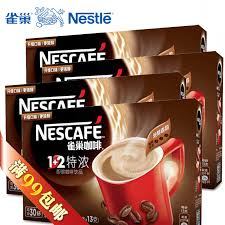 Get Quotations Nescafe 1 2 Coffee Series Of New Packaging Triple Espresso Flavored Instant Powder 4