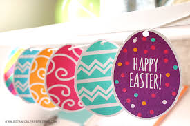 We Love The Idea Of Using These Colorful And Vibrant Easter Egg Printables To Make A