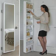 Over The Door Bathroom Organizer by Behind Door Storage Cabinet I48 In Cheerful Small Home Decoration