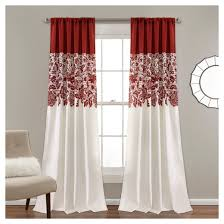 Lush Decor Window Curtains by Estate Garden Print Room Darkening Window Curtain Set 84