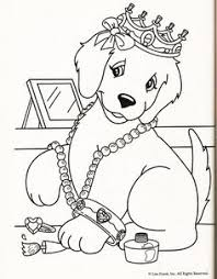 Coloring Book Dogs On Pages Animal