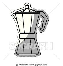 Figure White Moka Pot Icon