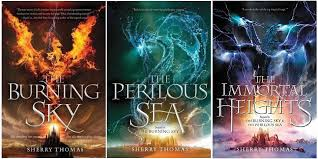 Iolanthe Seaborne Elementals Series By Sherry Thomas