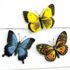 Butterfly Outdoor Wall Decor For Bathrooms