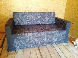 slipcover for solsta sofa bed from ikea strong cotton fabric