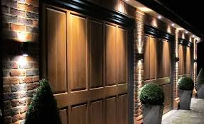 lighting brown contemporary outdoor wall lighting wooden white