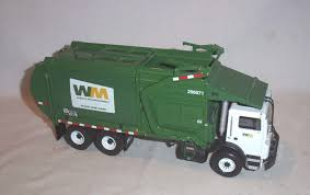 100 Waste Management Garbage Truck First Gear Front End Loader Mack 134