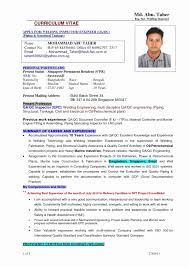Quality Inspector Resume Best Of 51 Beautiful Qc Format Fresh Templates