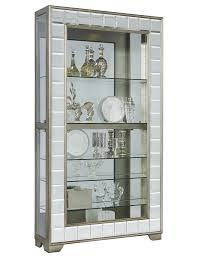 Pulaski Oak Corner Curio Cabinet by Pfc Curios Curio Display Cabinets Home Meridian