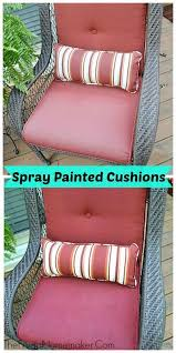Red Patio Furniture Pinterest by 25 Unique Painted Outdoor Furniture Ideas On Pinterest Painted