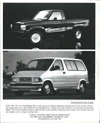 100 Ford Trucks By Year 1991 Press Photo Ford Trucks 1991 Model Year Historic Images