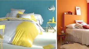décoration chambre à coucher peinture couleur de chambre peinture déco côté maison