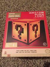 Mario Bros Question Block Lamp by Mario Block Light Ebay