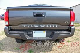 2015-2018 Toyota Tacoma TAILGATE LETTERS Rear Bed Lettering TRD ... Black Trucks Matter Tailgate Decal Sticker 4x4 Diesel Truck Suv Small Get Lettered Up White 7279 Ford Pickup Fleetside Ranger Vinyl Compact Realtree Max5 Camo Graphic Camouflage Decals Sierra Midway 2014 2015 2016 2017 2018 Gmc Sierra Dodge Ram Rage Power Wagon Style Bed Striping F150 Center Stripe 15 Center Hood Racing Stripes Rattlesnake Xtreme Digital Graphix Tacoma Afm Graphics 62018 Chevy Silverado 3m
