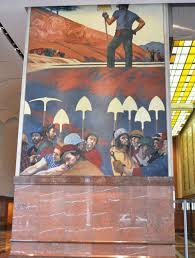 Denver International Airport Murals Painted Over by News Headlines Bank Of America U0027s Predictions