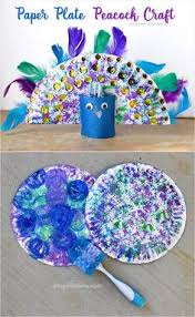 Paper Plate Snake Craft Using Bubble Wrap Kids Art Project