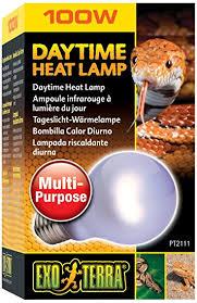 amazon com exo terra daytime heat l a19 100 watt pet