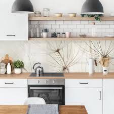 küchenrückwand sanfte gräser klebefolie küche rückwand folie küchenfolie blumen