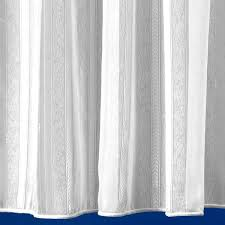chevron white voile curtain from net curtains direct