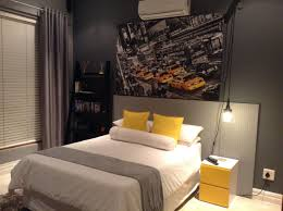100 New York Style Bedroom Boys Room Industrial Theme Bed PegBoard Headboard And
