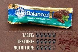 Balance Bars Bar Review