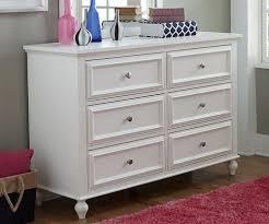 Zayley 6 Drawer Dresser by Academy 6 Drawer Dresser White Finish 5811 1100 Legacy Classic