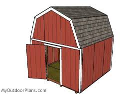 12x12 Shed Plans With Loft by 12x12 Barn Shed Plans Myoutdoorplans Free Woodworking Plans