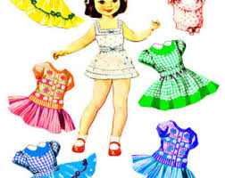 Doll Clipart Clothes 2