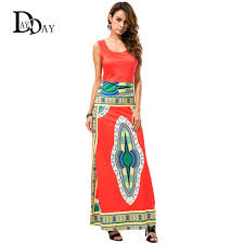 popular red african print dress buy cheap red african print dress