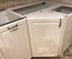 corner sink cabinet hack by mike yelp