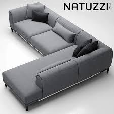 sofa natuzzi trevi 3d modell 3d modell natuzzi sofa